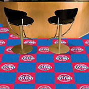FANMATS Detroit Pistons Carpet Tiles