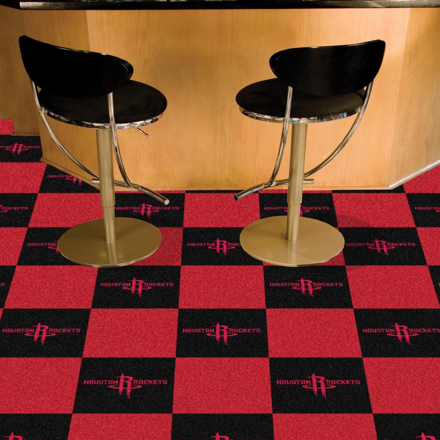 Houston Rockets Carpet Tiles