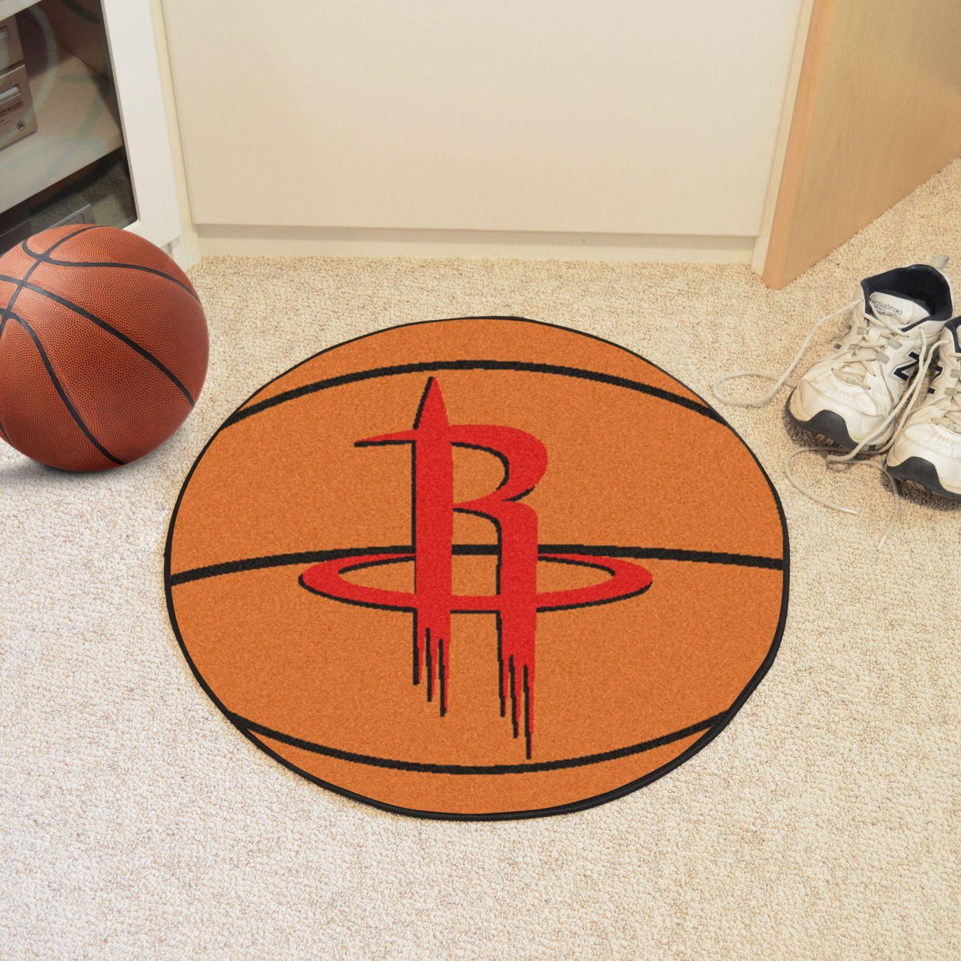 FANMATS Houston Rockets Basketball Mat