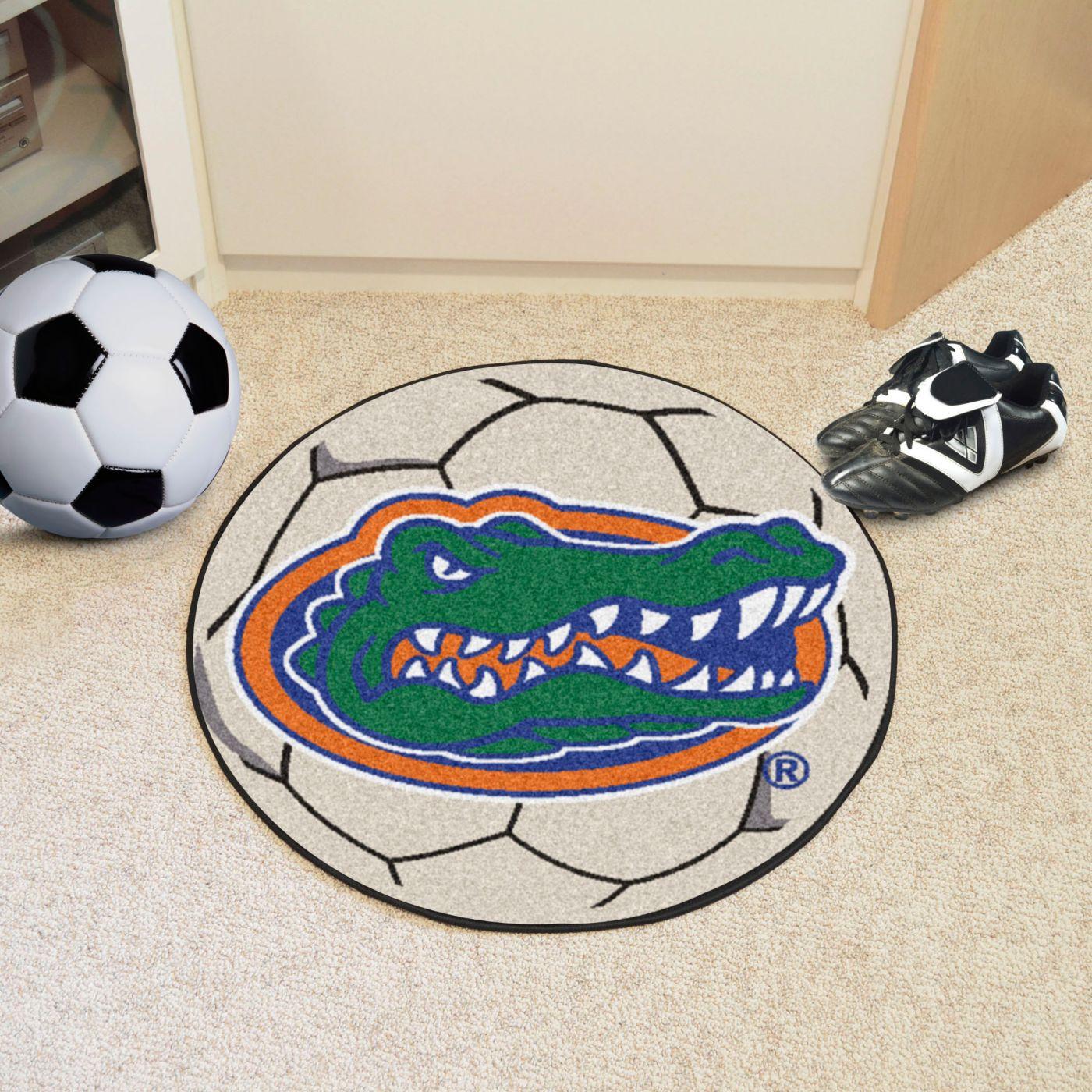 FANMATS Florida Gators Soccer Ball Mat