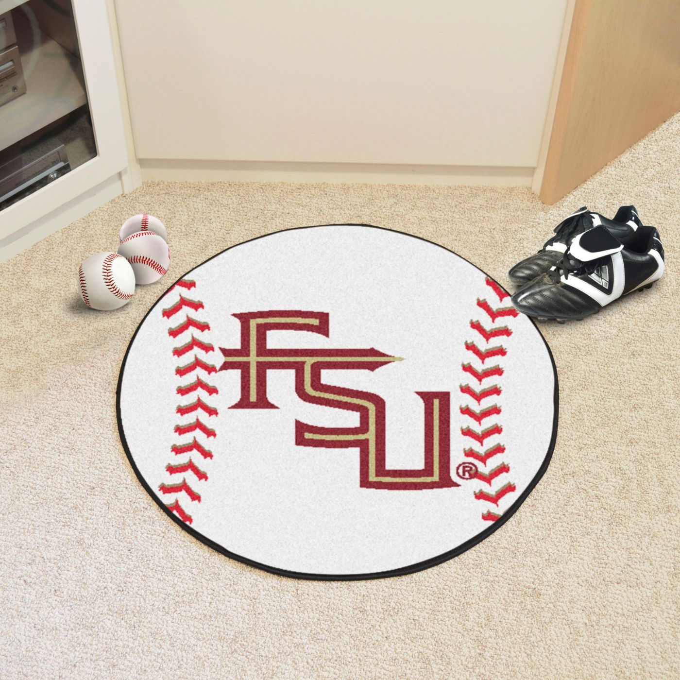Florida State Seminoles Baseball Mat