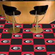 FANMATS Georgia Bulldogs Team Carpet Tiles
