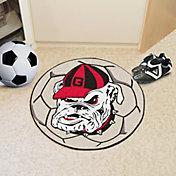 FANMATS Georgia Bulldogs Soccer Ball Mat