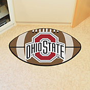 FANMATS Ohio State Buckeyes Football Mat
