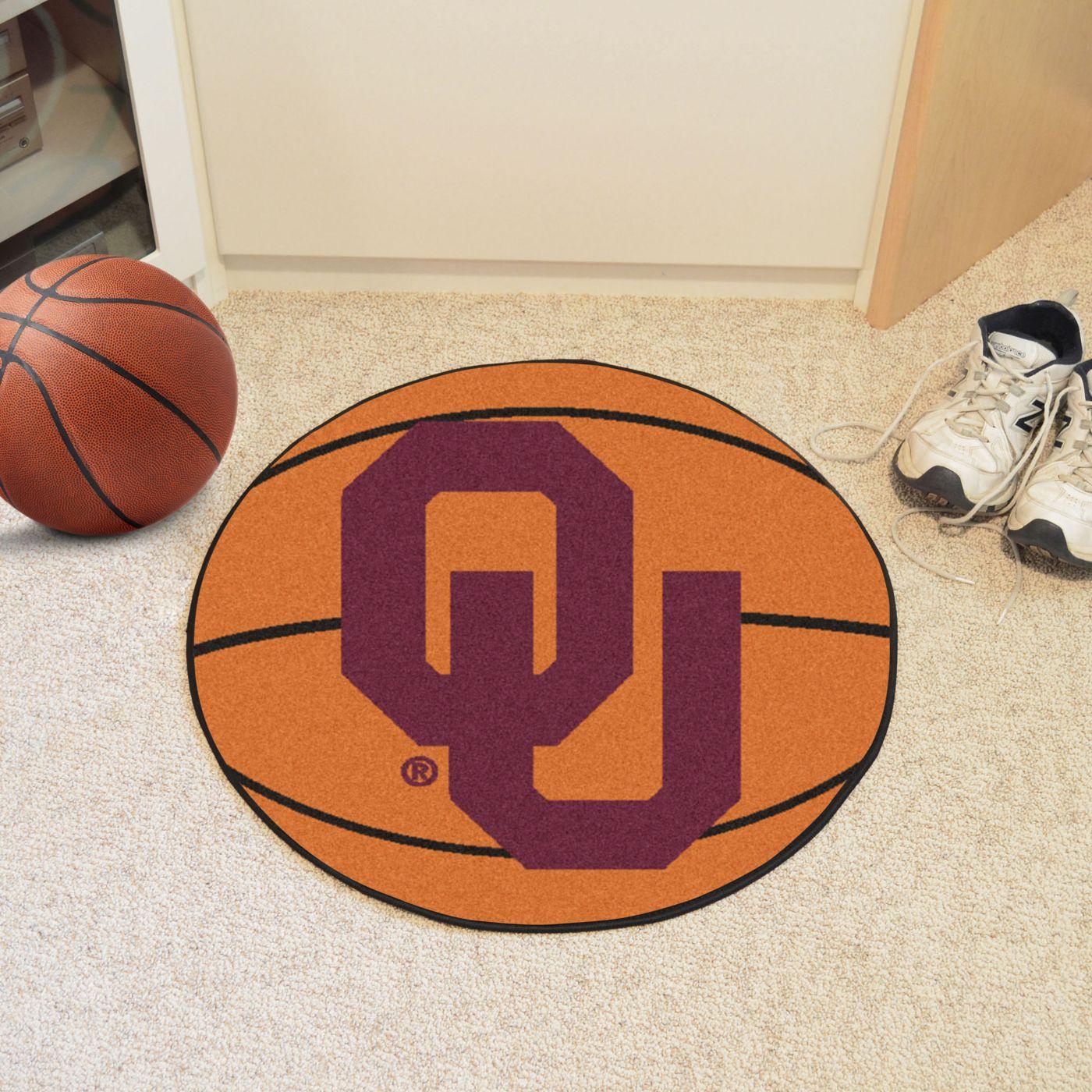 FANMATS Oklahoma Sooners Basketball Mat
