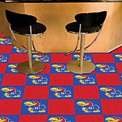 FANMATS Kansas Jayhawks Team Carpet Tiles