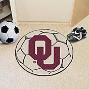 FANMATS Oklahoma Sooners Soccer Ball Mat