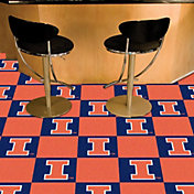 Illinois Fighting Illini Team Carpet Tiles