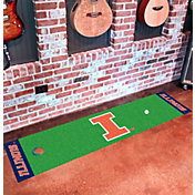 FANMATS Illinois Fighting Illini Putting Mat