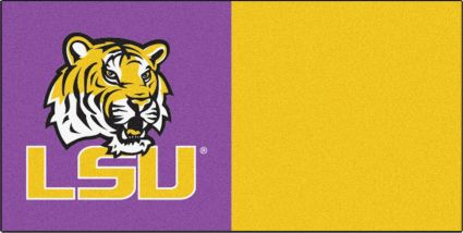 FANMATS LSU Tigers Team Carpet Tiles