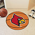 Louisville Cardinals Basketball Mat