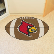 FANMATS Louisville Cardinals Football Mat