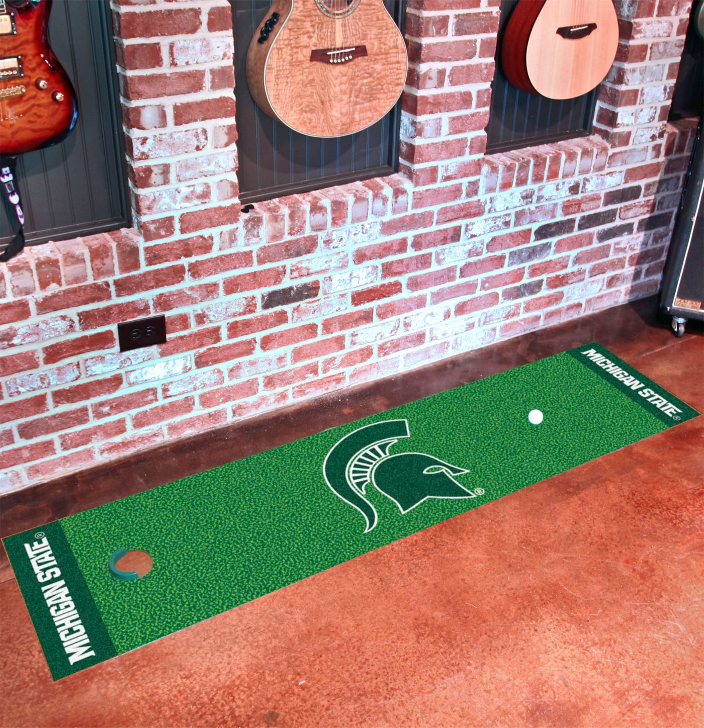 FANMATS Michigan State Spartans Putting Mat