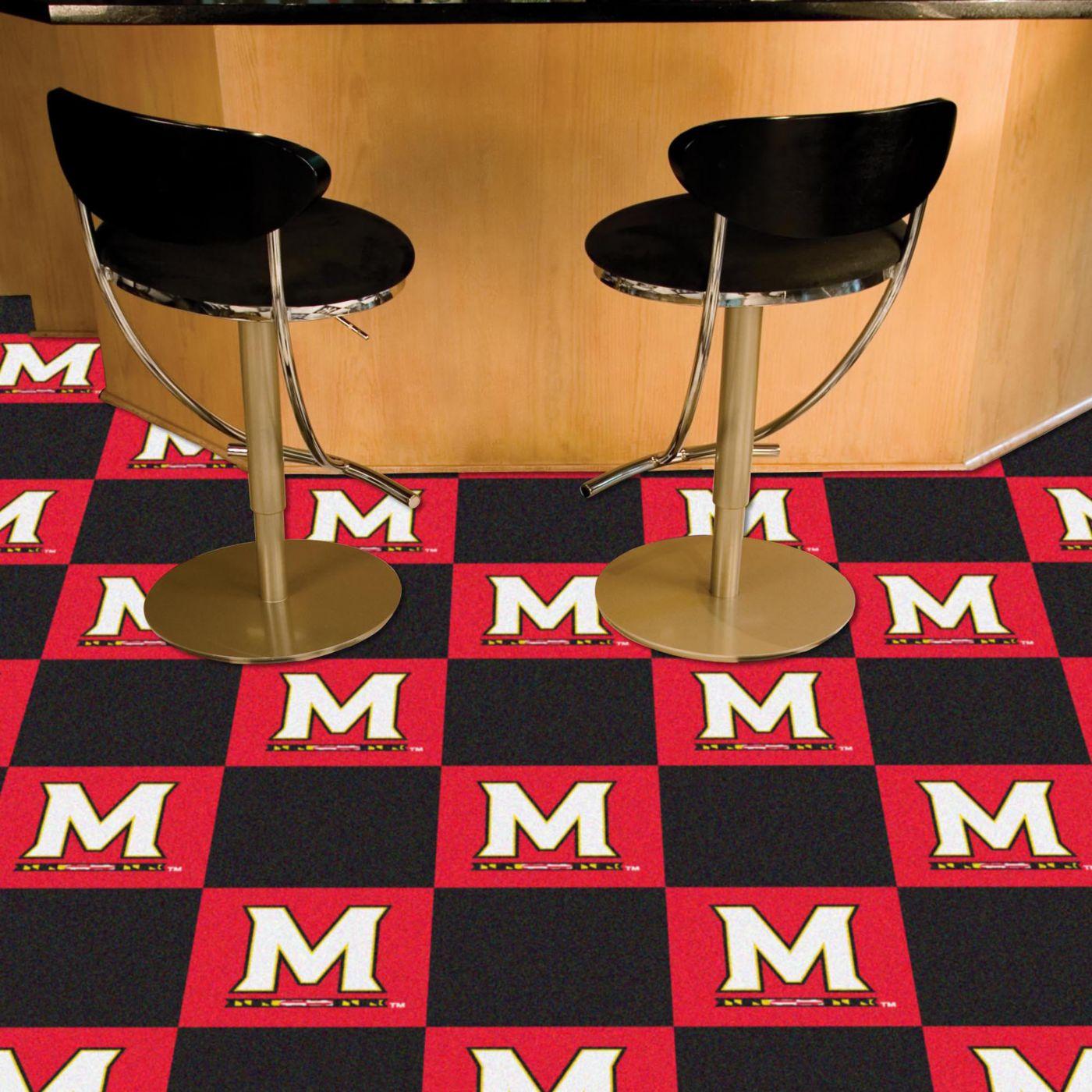 FANMATS Maryland Terrapins Team Carpet Tiles