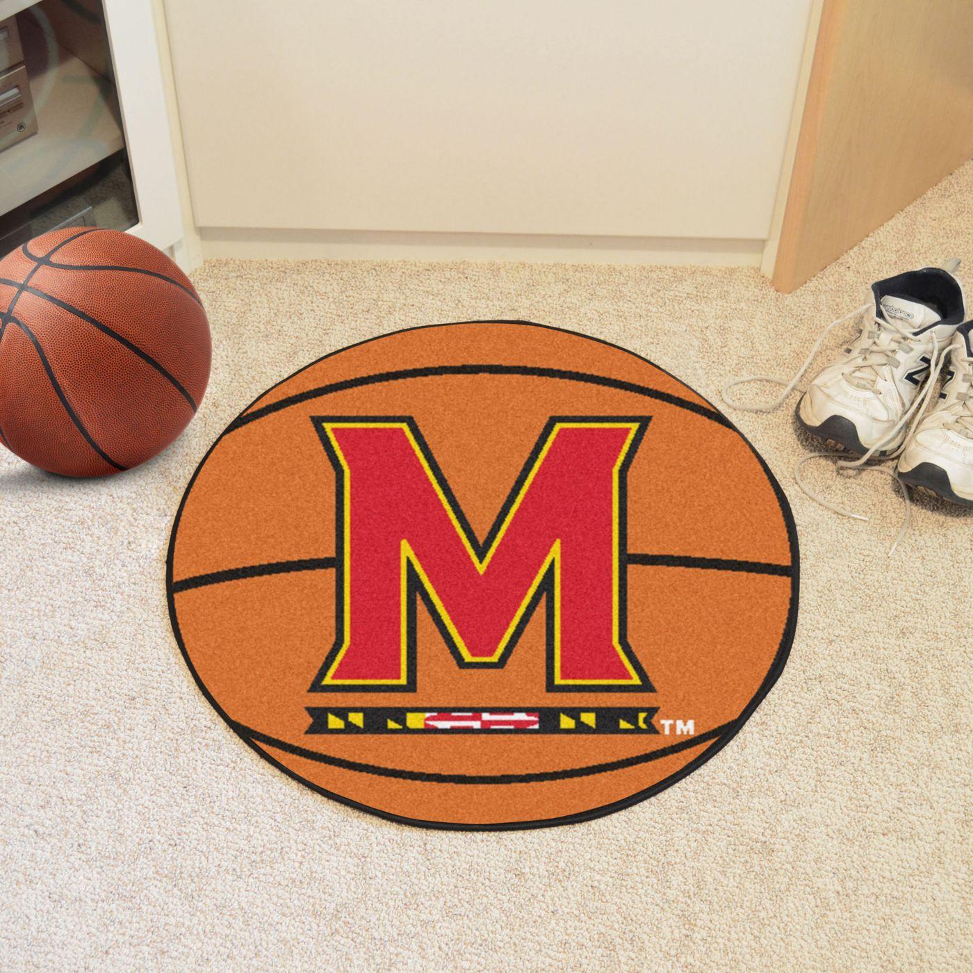 FANMATS Maryland Terrapins Basketball Mat