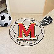 FANMATS Maryland Terrapins Soccer Ball Mat