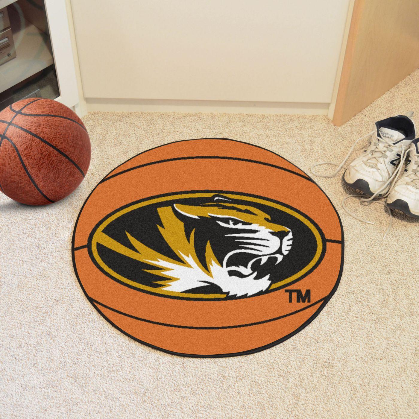 FANMATS Missouri Tigers Basketball Mat
