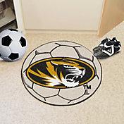 FANMATS Missouri Tigers Soccer Ball Mat