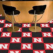 FANMATS Nebraska Cornhuskers Team Carpet Tiles