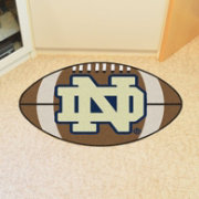 FANMATS Notre Dame Fighting Irish Football Mat
