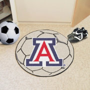 FANMATS Arizona Wildcats Soccer Ball Mat