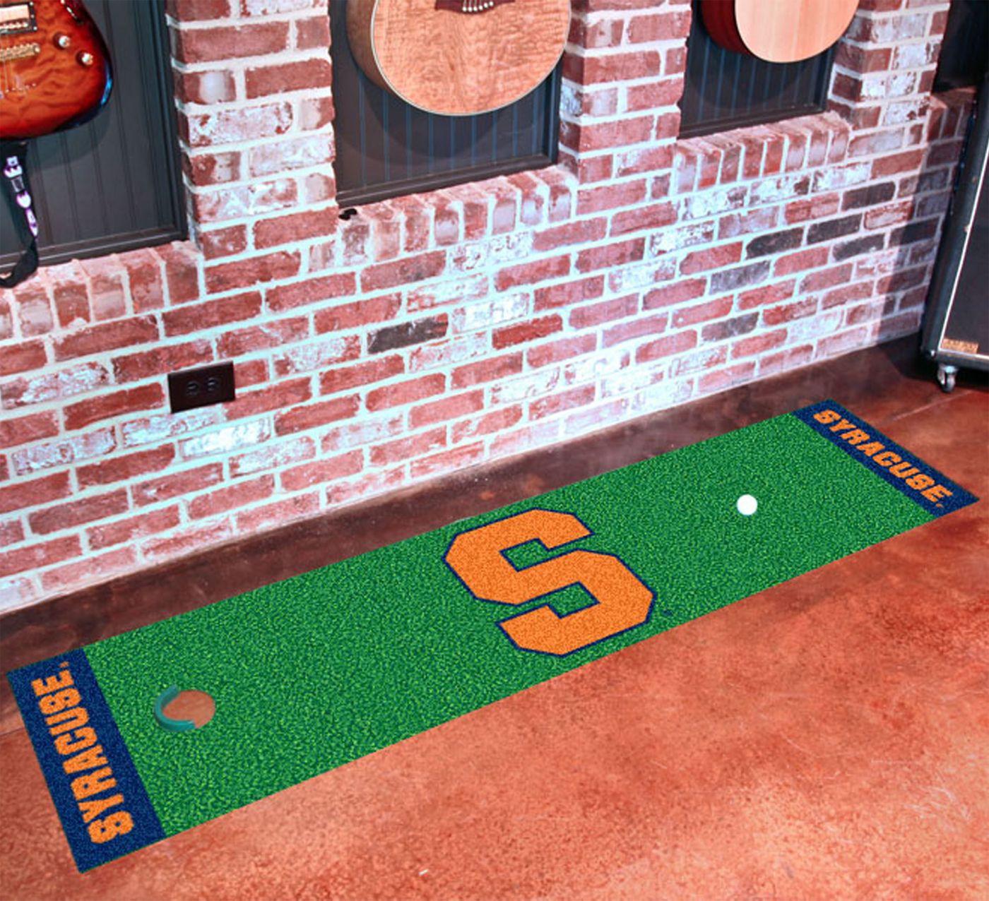 FANMATS Syracuse Orange Putting Mat