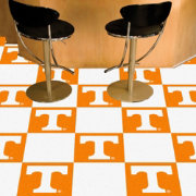FANMATS Tennessee Volunteers Team Carpet Tiles