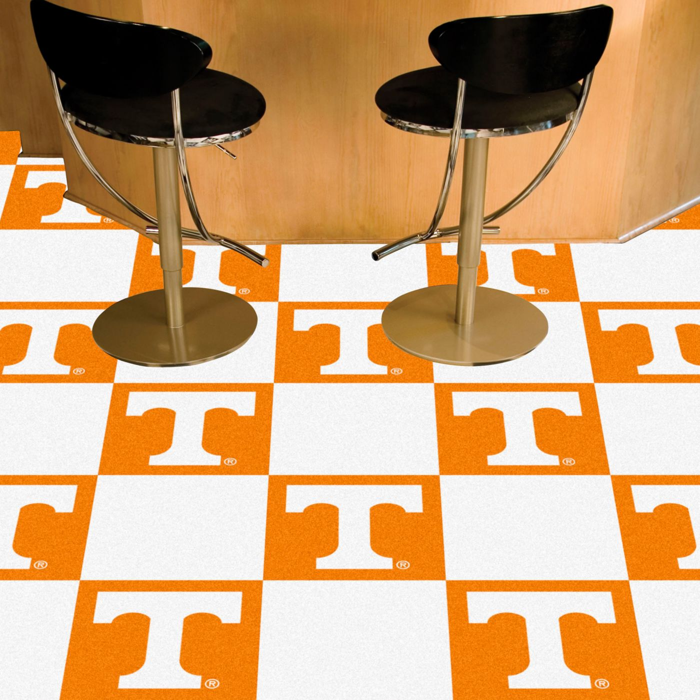 FANMATS Tennessee Volunteers Team Carpet Tiles