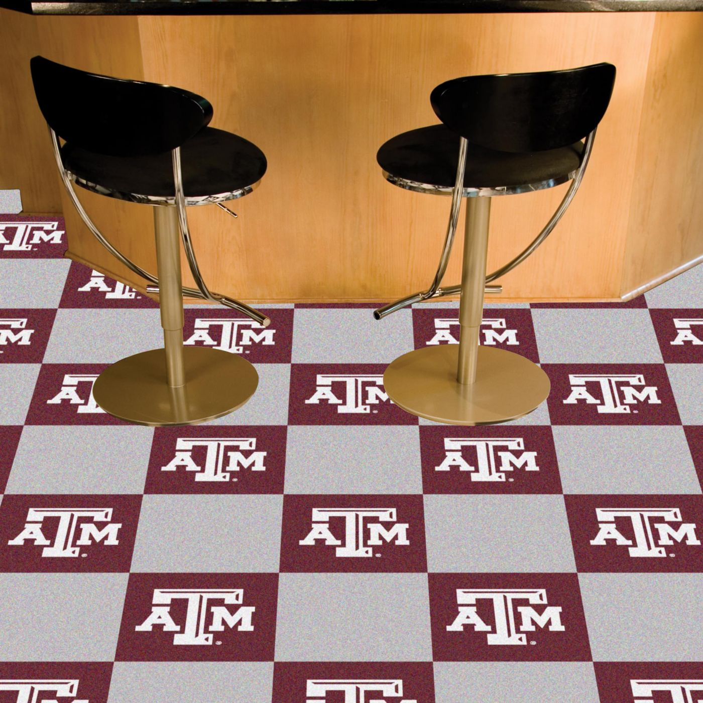 Texas A&M Aggies Team Carpet Tiles