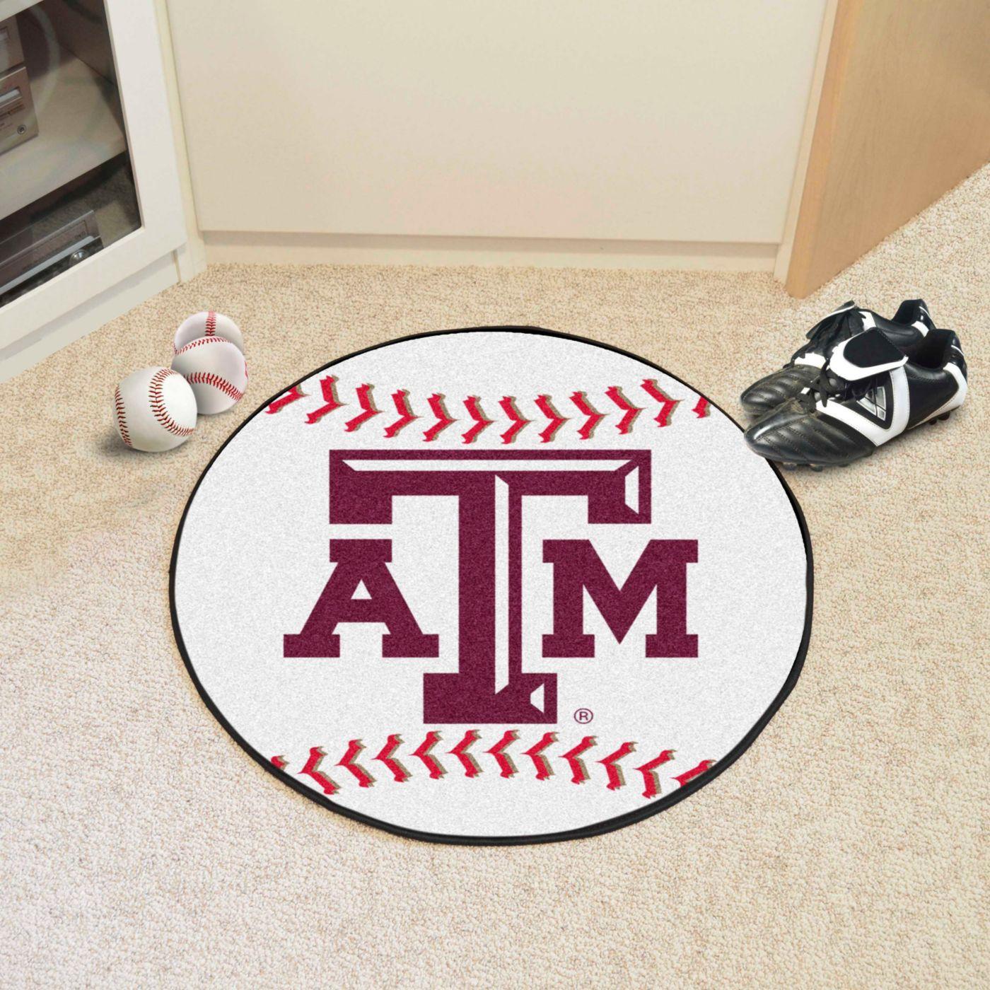 Texas A&M Aggies Baseball Mat