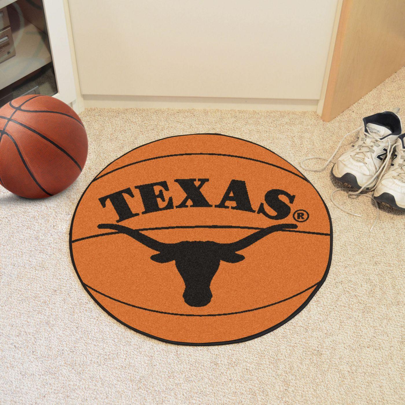 FANMATS Texas Longhorns Basketball Mat