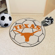 Texas Longhorns Soccer Ball Mat