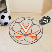 FANMATS Virginia Cavaliers Soccer Ball Mat