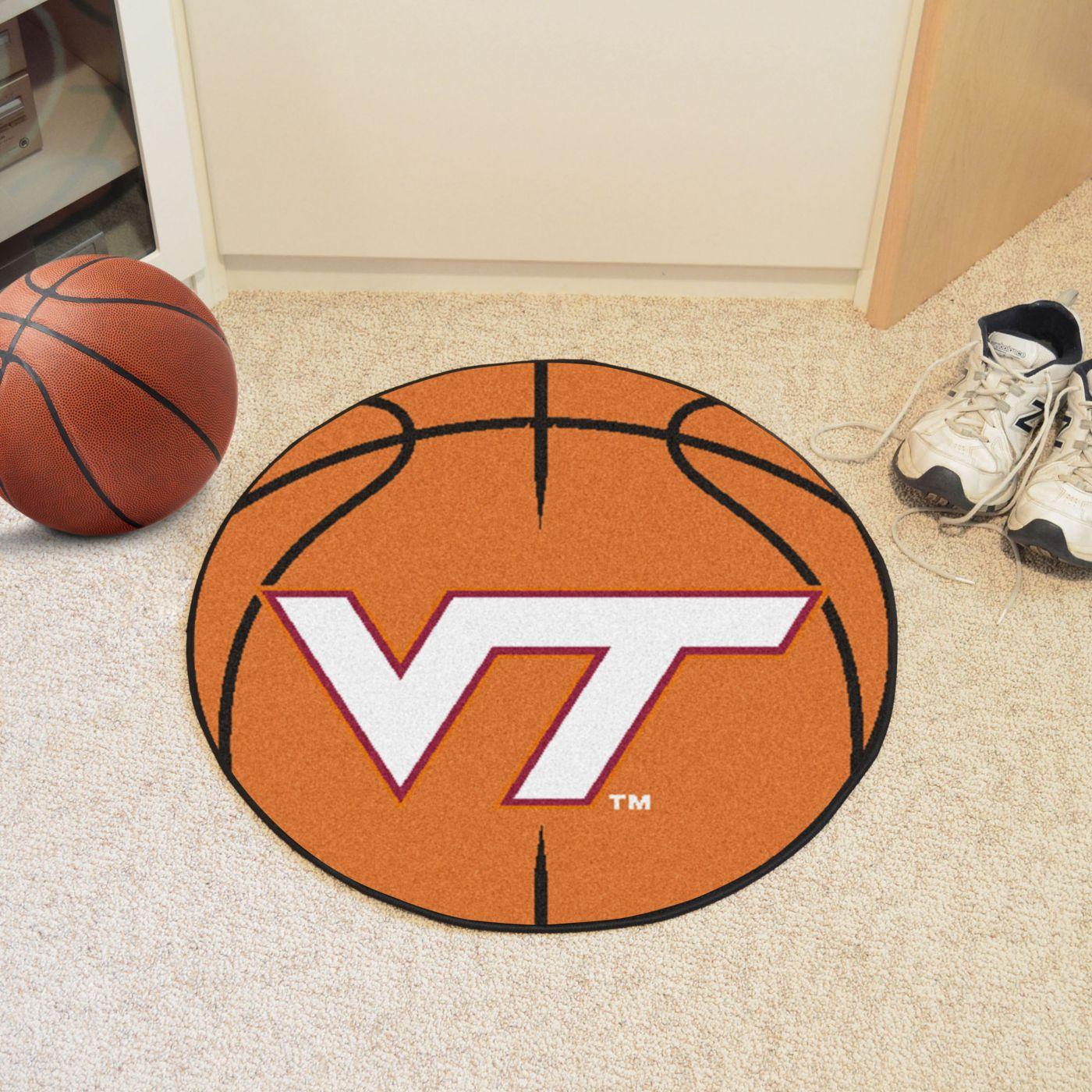 FANMATS Virginia Tech Hokies Basketball Mat