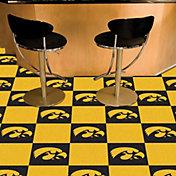 FANMATS Iowa Hawkeyes Team Carpet Tiles