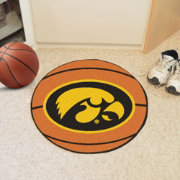 FANMATS Iowa Hawkeyes Basketball Mat
