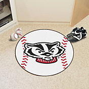FANMATS Wisconsin Badgers Baseball Mat