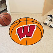 FANMATS Wisconsin Badgers Basketball Mat