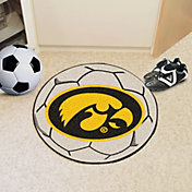 FANMATS Iowa Hawkeyes Soccer Ball Mat