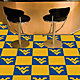 FANMATS West Virginia Mountaineers Team Carpet Tiles