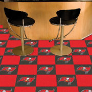 FANMATS Tampa Bay Buccaneers Team Carpet Tiles