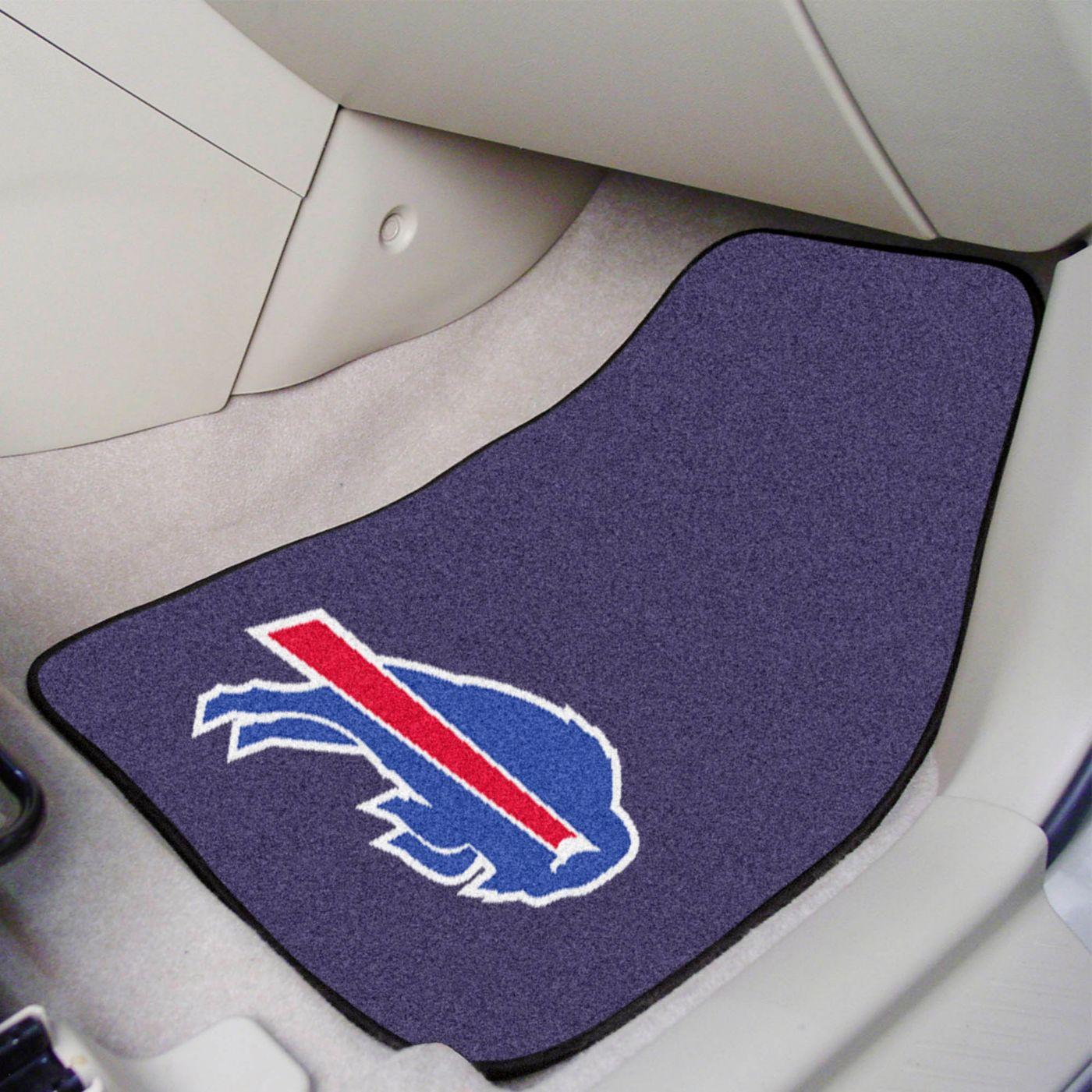 Buffalo Bills 2-Piece Printed Carpet Car Mat Set