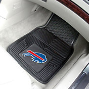 FANMATS Buffalo Bills 2-Piece Heavy Duty Vinyl Car Mat Set