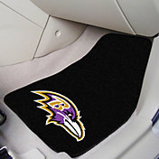 Baltimore Ravens 2-Piece Printed Carpet Car Mat Set