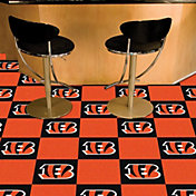 FANMATS Cincinnati Bengals Team Carpet Tiles
