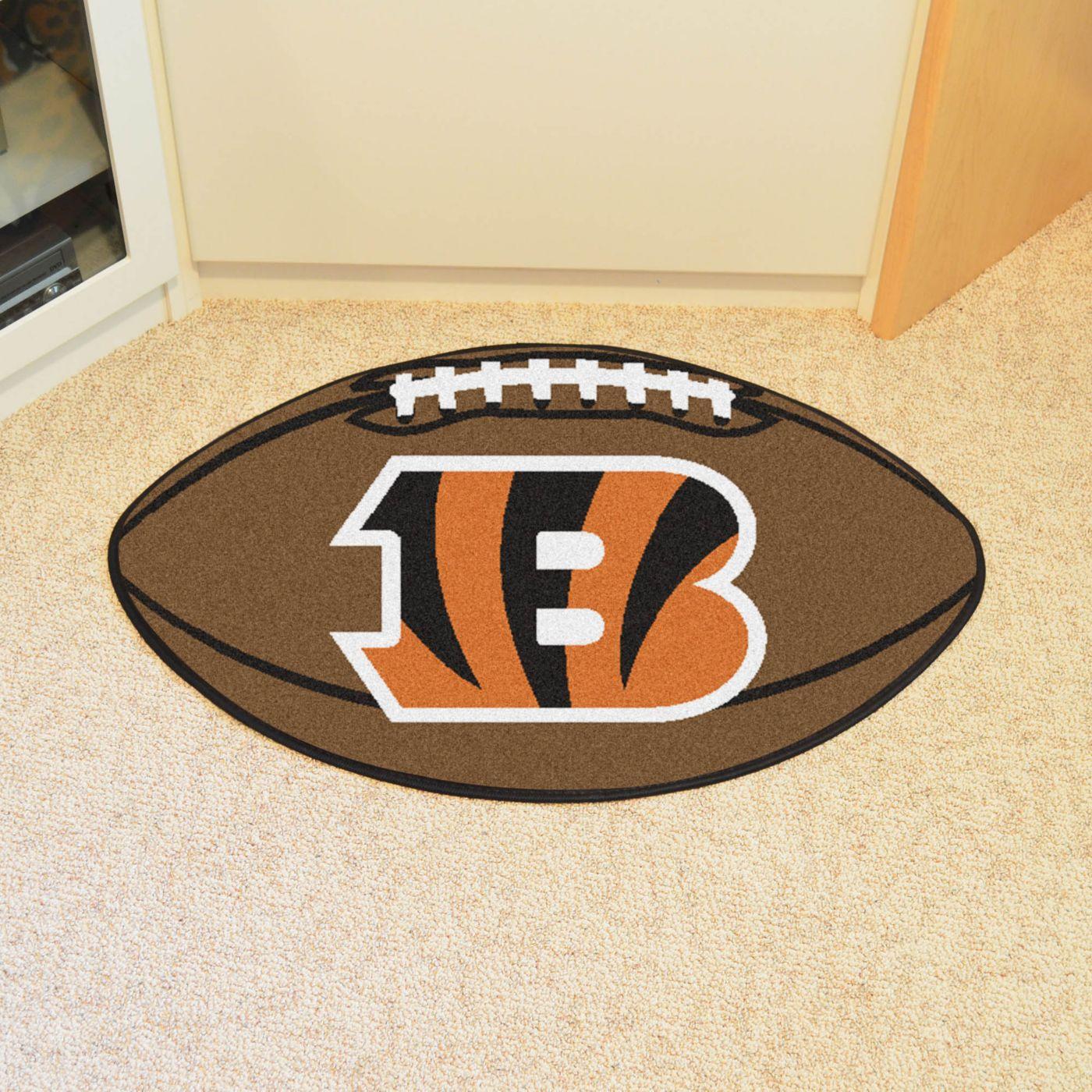 Cincinnati Bengals Football Mat