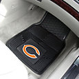 FANMATS Chicago Bears 2-Piece Heavy Duty Vinyl Car Mat Set
