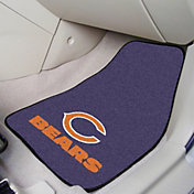 Chicago Bears 2-Piece Printed Carpet Car Mat Set