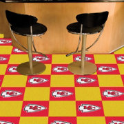 FANMATS Kansas City Chiefs Team Carpet Tiles