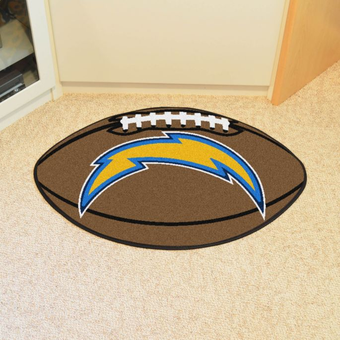 f1c3a06d FANMATS Los Angeles Chargers Football Mat